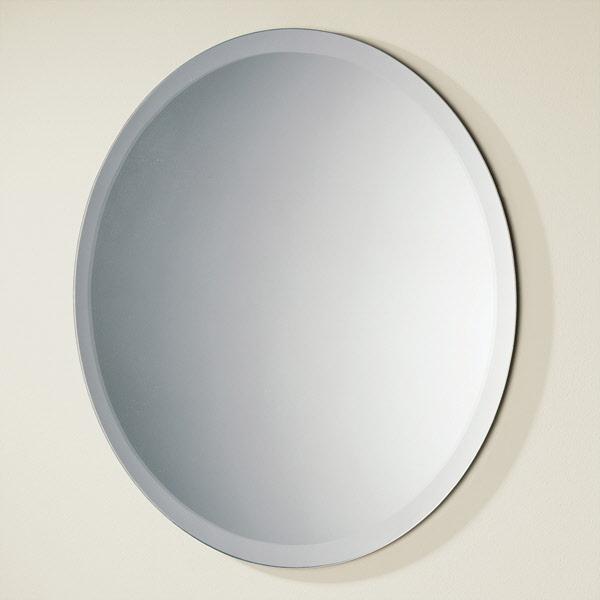 Hib Rondo Round Bathroom Mirror 500mm Drench